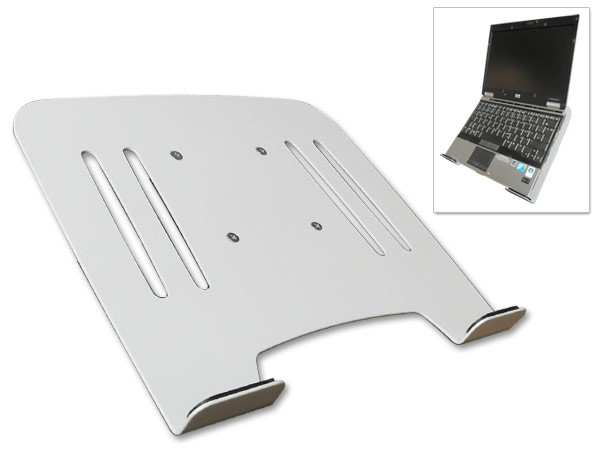 universal halterung f laptop notebook netbook befestigung an wandhalterung mit vesa 75 modell ip3w. Black Bedroom Furniture Sets. Home Design Ideas