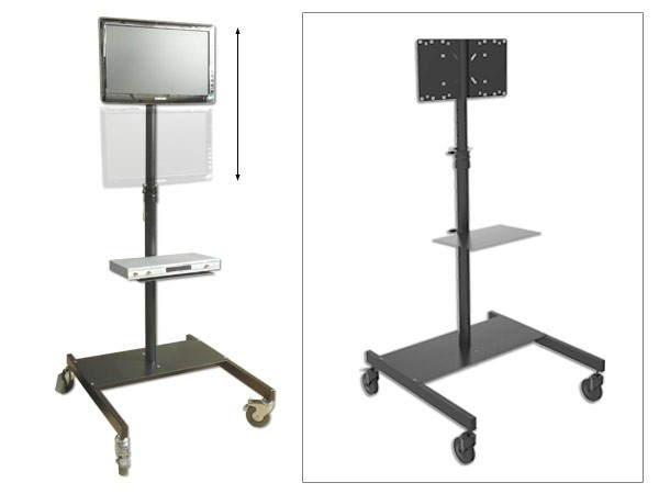 Television Stand LED LCD Plasma Tv Monitor Standing Mount Fairs Presentation