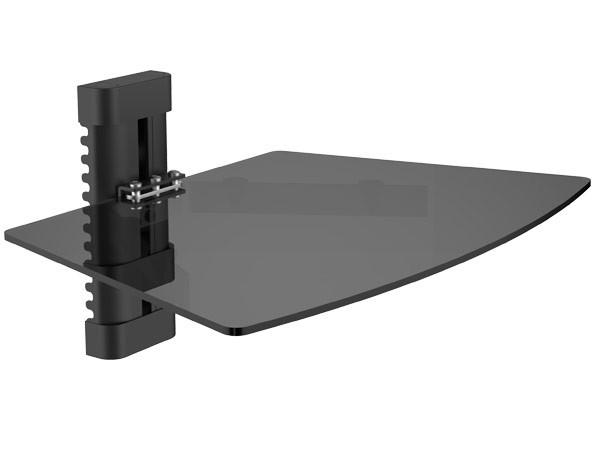 Ablage dvd bluray media player rack wandhalterung halter receiver kabelkanal halterung modell l93b - Kabelabdeckung wand tv ...