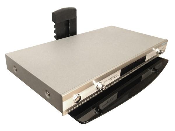 ablage dvd bluray media player rack wandhalterung halter. Black Bedroom Furniture Sets. Home Design Ideas