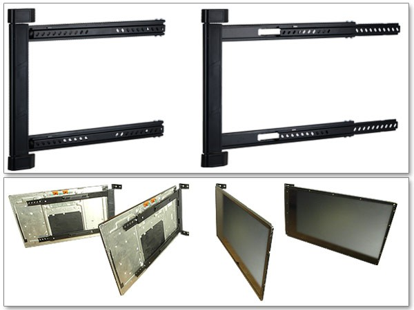 TV Wall Mount and Corner Mount 42-64 Inch Led Lcd Vesa Mount Foldable