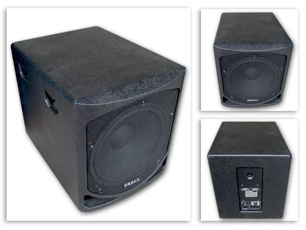 800 watt subwoofer 15 bassbox aktiv box bass. Black Bedroom Furniture Sets. Home Design Ideas