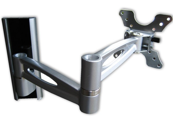 Television Wall Mount Extendable For Tft Lcd Monitor Rotates 180° Tilt Mounting L50