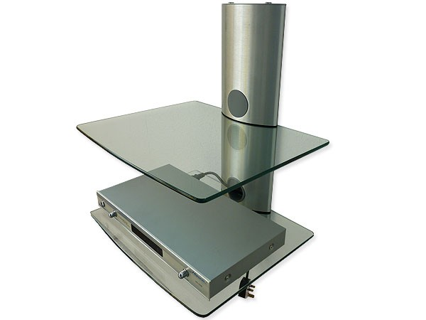 Tv wand regal system hifi wandhalterung wandhalter dvd ebay - Kabelabdeckung wand tv ...