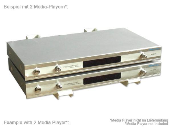 universal wandhalterung halter mikrowelle lautsprecher boxen bluray dvd player wei modell h76w. Black Bedroom Furniture Sets. Home Design Ideas