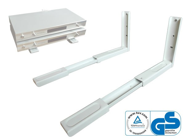 Bracket Holder Microwave TÜV Certified Wall Mounting Microwave