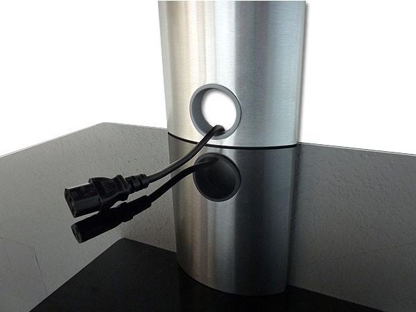 wandhalterung f r dvd media bluray player amp speaker boxen regal ablage 2 glasb den modell gl2. Black Bedroom Furniture Sets. Home Design Ideas