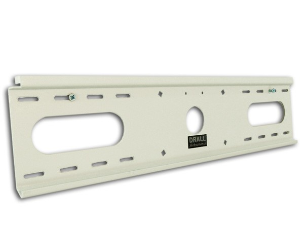 LCD LED Wall Mount 28-60  Bracket Flat Fixed White Wall
